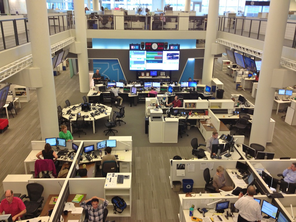 NPR_newsroom